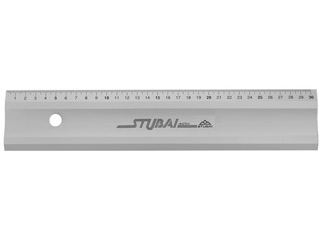 N° 2634 10 STUBAI Aluminium Ruler 1000mm
