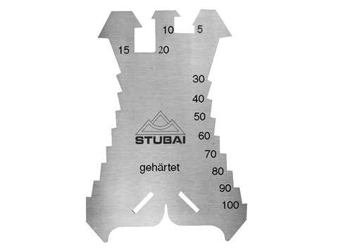 N° 2786 01 STUBAI Marking Plate 1.3mm Hardened