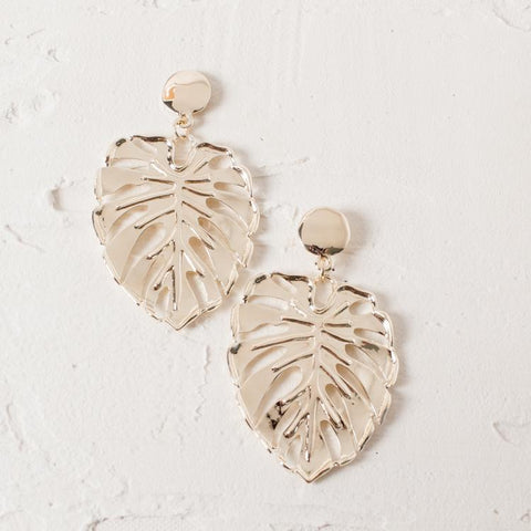 'MONSTERA' Earrings