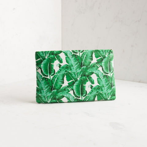 'BEVERLY HILLS' Printed Clutch
