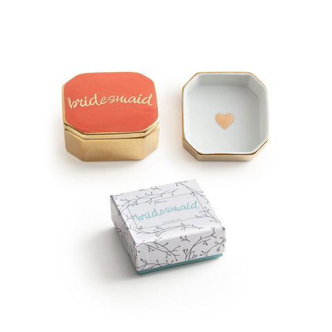 'Bridesmaid' Trinket Box