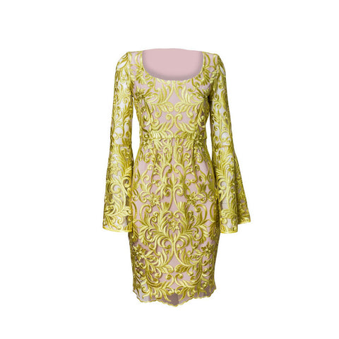 COLETTE DRESS  |  CHARTREUSE