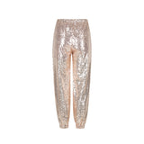 GENIE sequin pant | Rose Gold