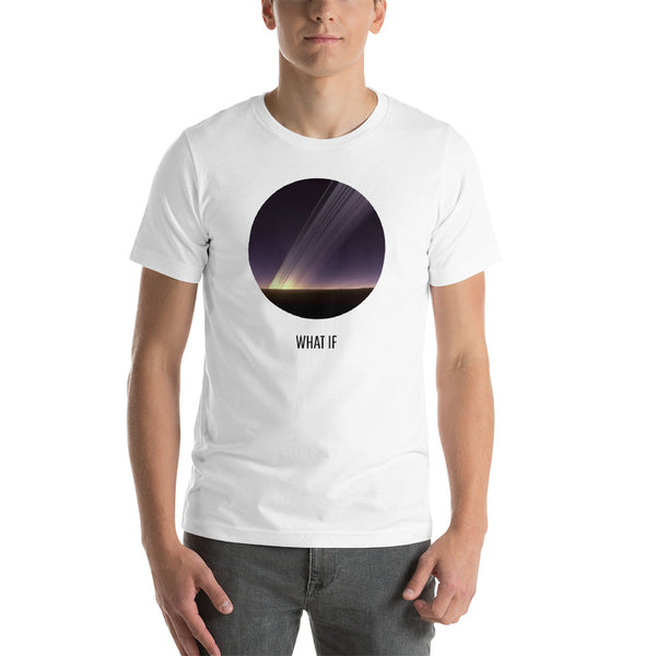What If Earth Had Rings Like Saturn Short-Sleeve Unisex T-Shirt