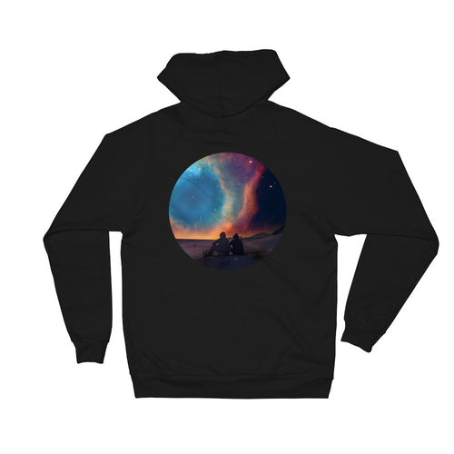 What If Nebula Unisex Fleece Hoodie