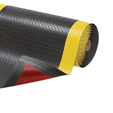 NoTrax Cushion Trax (Black and Yellow) - PVC Surface
