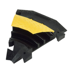 3 C - 45° Curve for 85002 Cable Protector 3-channel