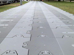 Supa-Trac Lite Floor Panel Grey - Temporary Exhibitions