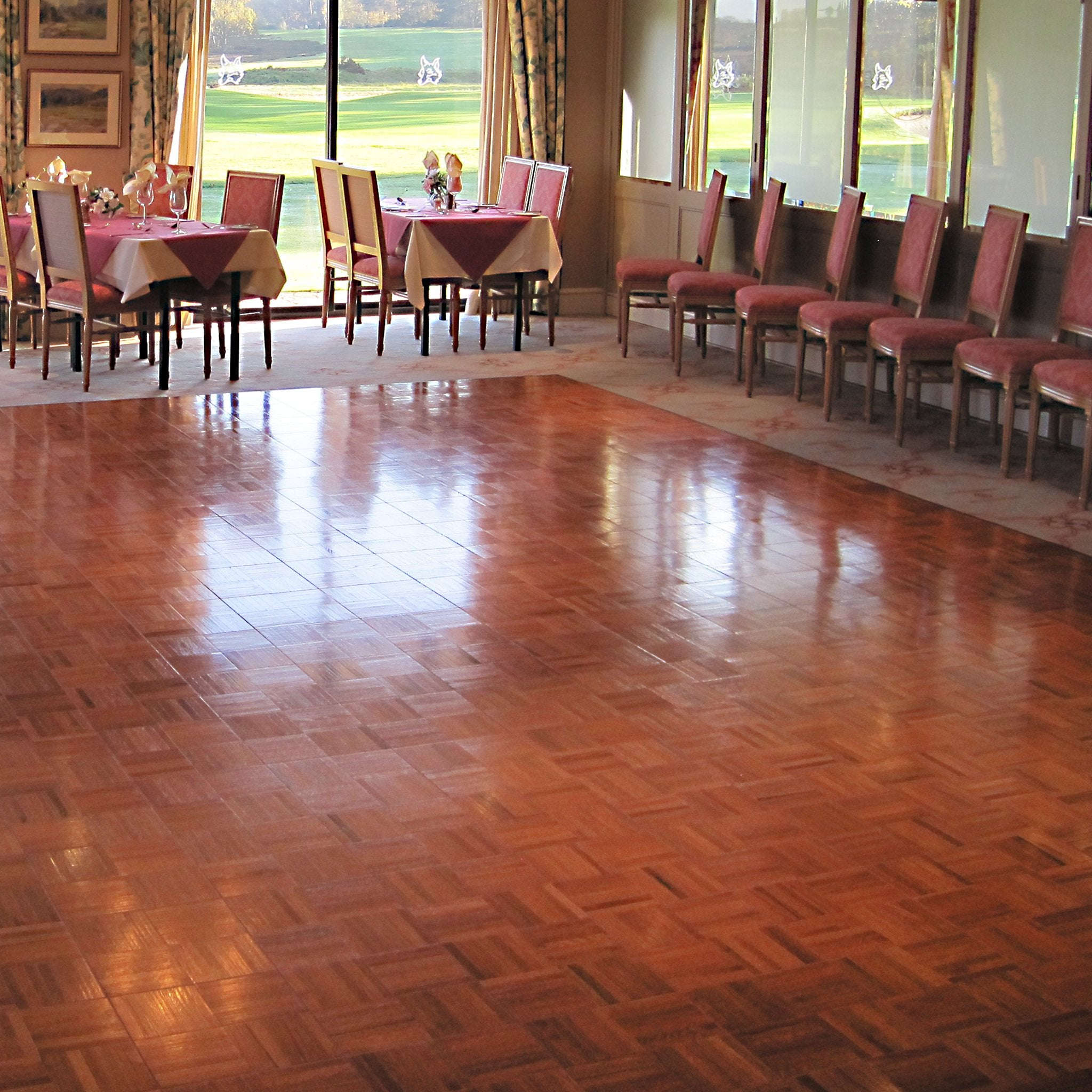 Signature DanceDeck Flooring - Easy to Transport and Install