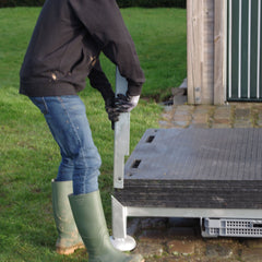 Lodax Ground Protection Flooring Storage Box - Easy to Install
