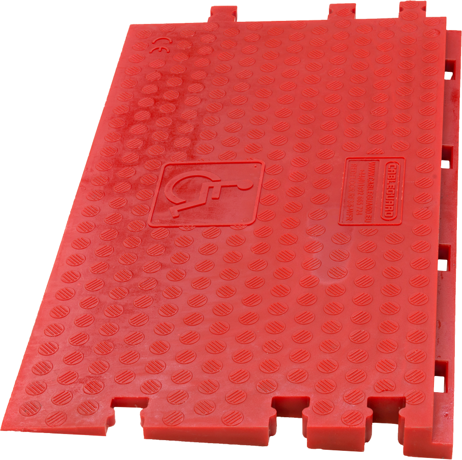 Red Floor Wheelchair Ramp - Female