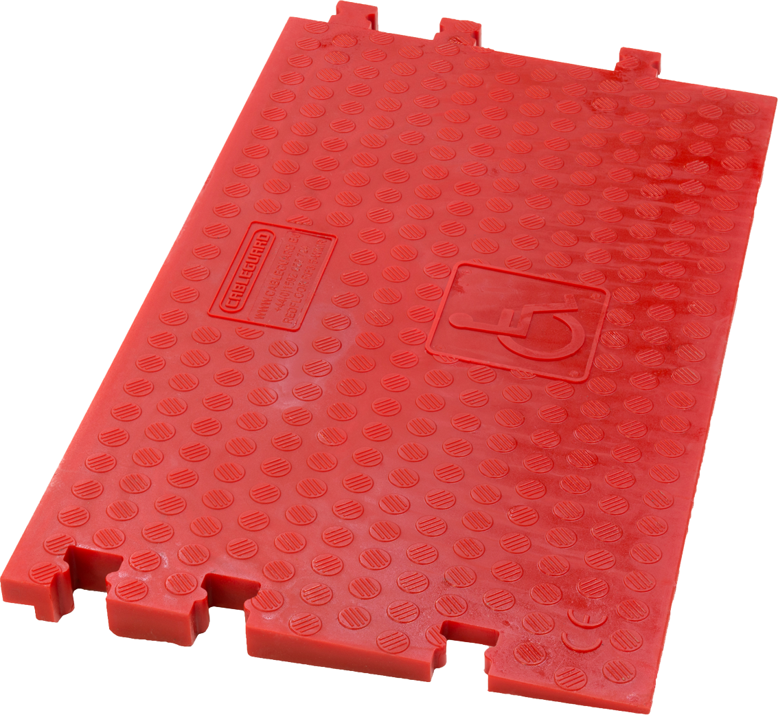 Red Floor Wheelchair Ramp - Male