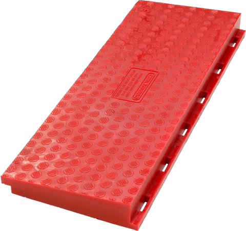 Red Floor 3-channel intermediate Wheelchair Ramp - Male