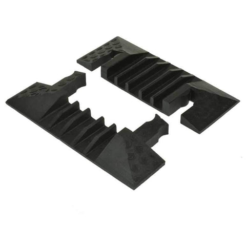 5-channel 31mm Red Line Cable Guard End Pieces