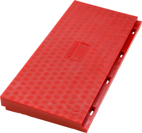 Red Floor 3-channel intermediate Wheelchair Ramp - Female
