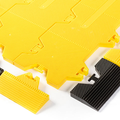 Supa-Trac Lite Edging Ramps | Yellow