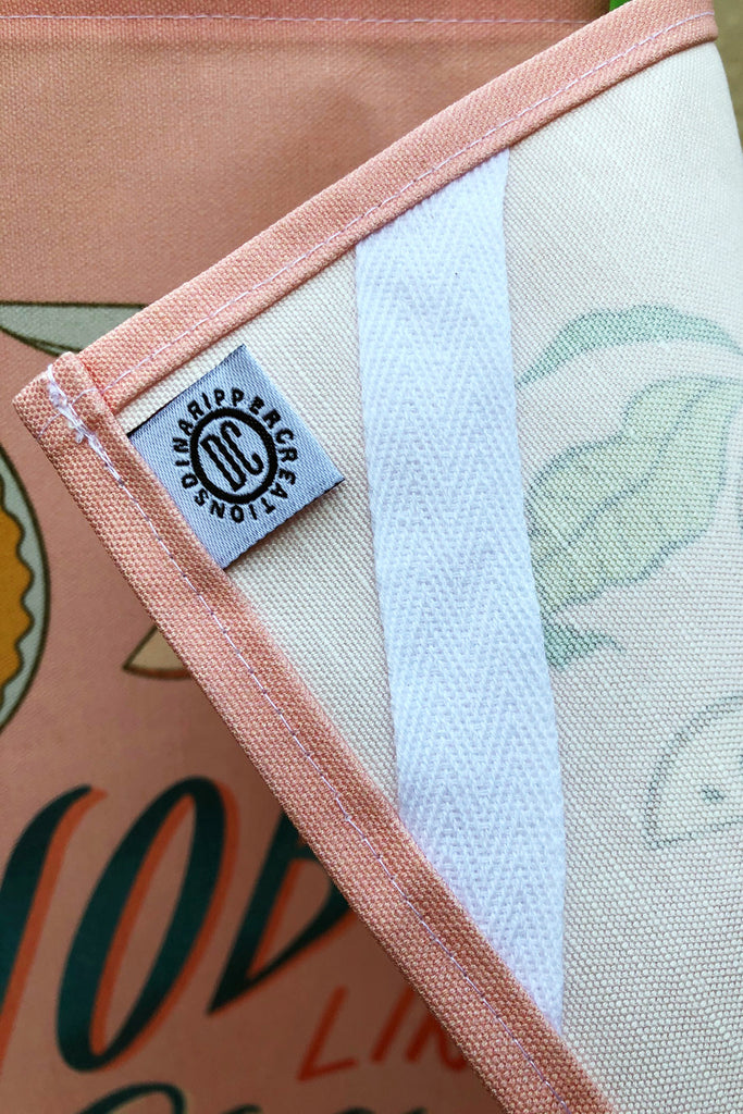"CONTINUED SALE! ""Good Morning! - I'm So Egg-cited to See You!"" Linen/Cotton Dish Towel - MORE IN!"