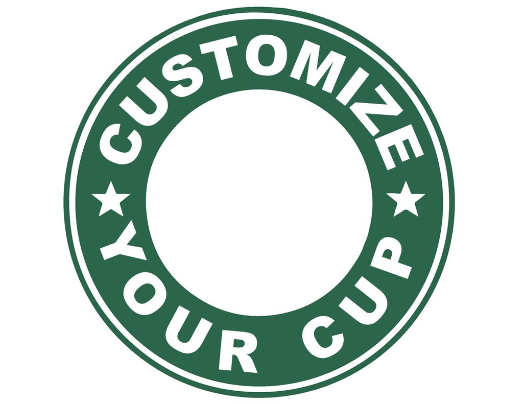CLEARANCE Customize Your Cup with a Fun Decal ON a Reusable Starbucks 16 oz. Hot/Cold Cup (Cup & Lid Included)