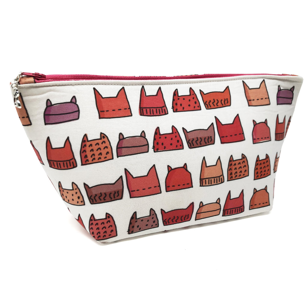 "Oops! My Bad! CLEARANCE ""Pussyhat"" Wedge Cosmetic/Accessory Bag"