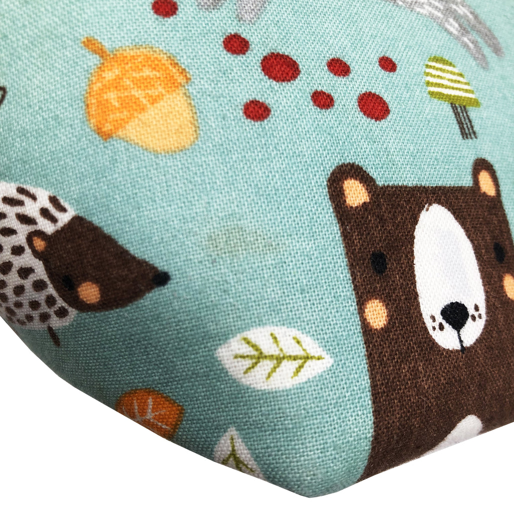"Oops! My Bad! Discounted ""Woodland Friends"" Wedge Cosmetic/Accessory Bag"