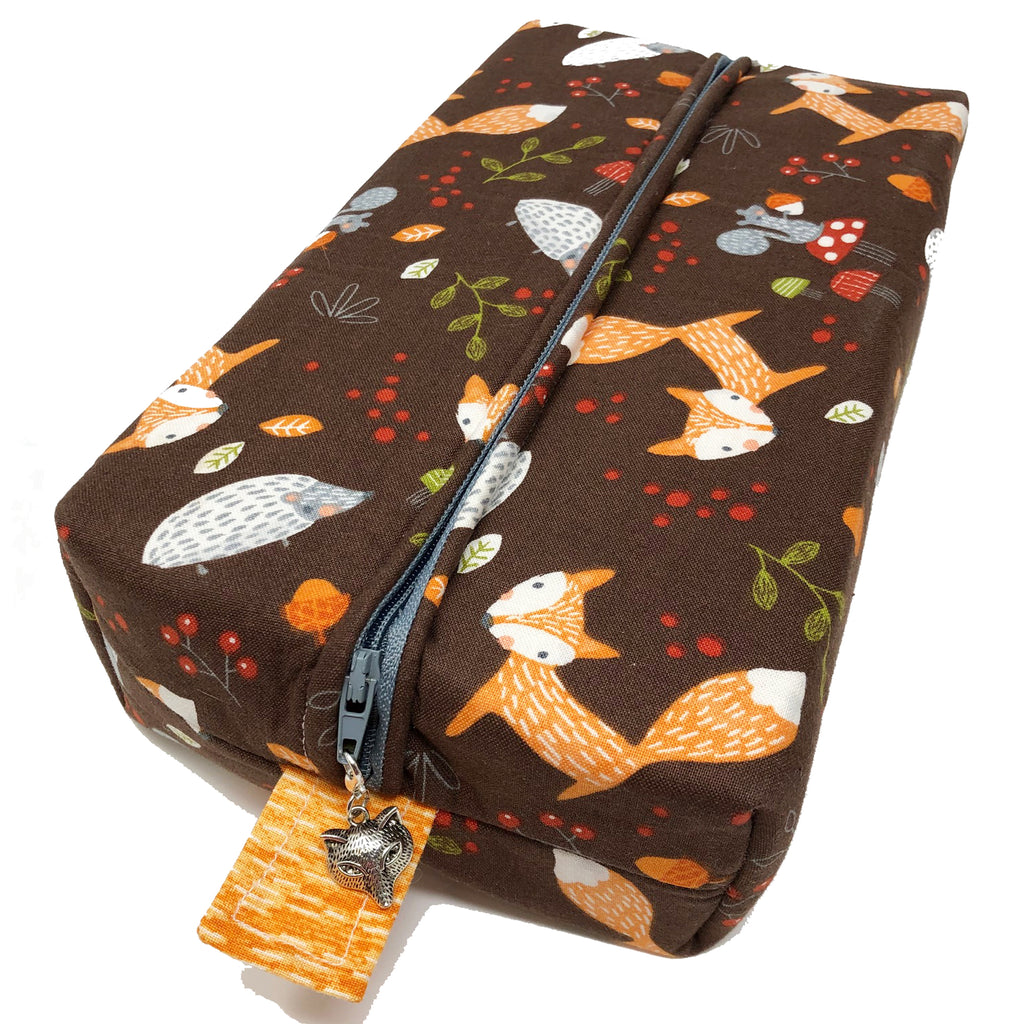 "Oops! My Bad! CLEARANCE ""Forest Friends"" Brick Cosmetic/Toiletry/Accessory Bag"