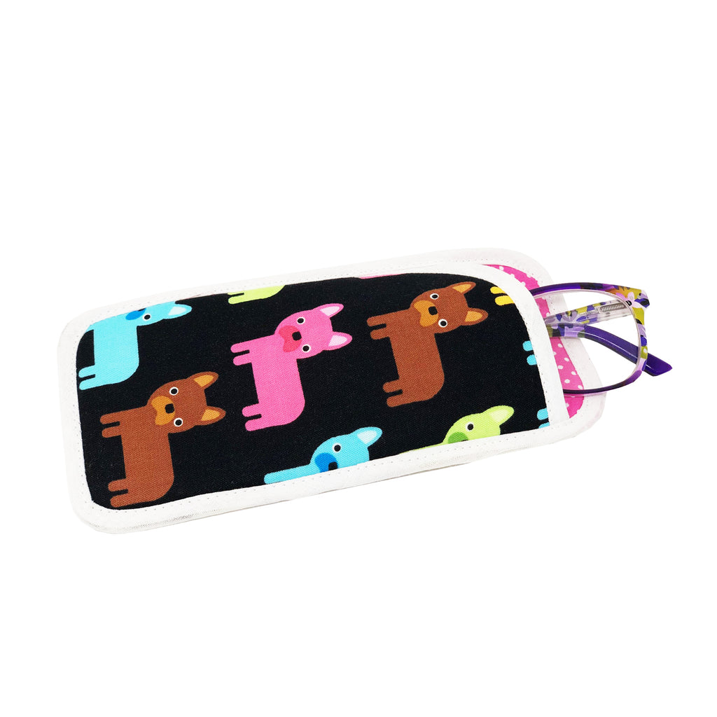 "NEW! NOW ON SALE! ""Frenchie"" Eyeglass Case"