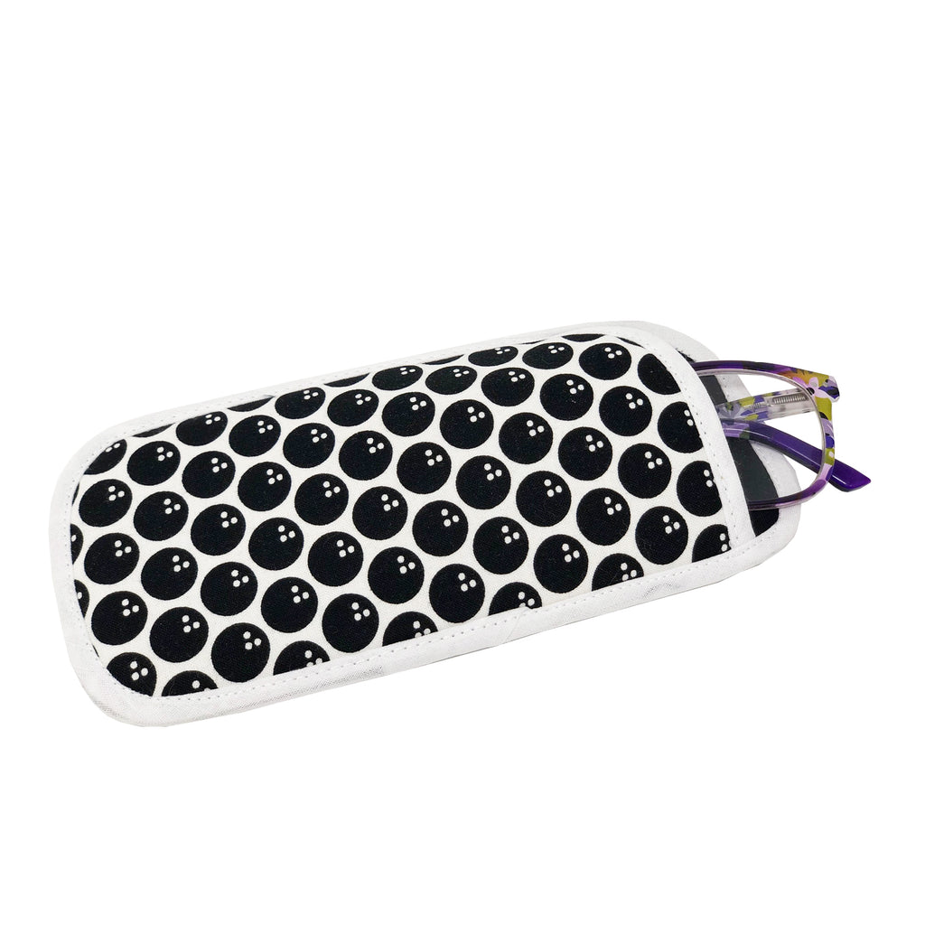 "NEW! NOW ON SALE! ""Bowling Balls"" Eyeglass Case"