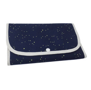 """Moonlit Fox"" Tri-Fold Cosmetic/Accessory Bag"