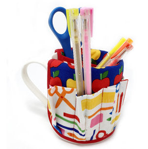"CLEARANCE ""School Days"" Pencil/Pen Cup"