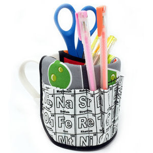 "CLEARANCE ""Periodic Table"" Pencil/Pen Cup"