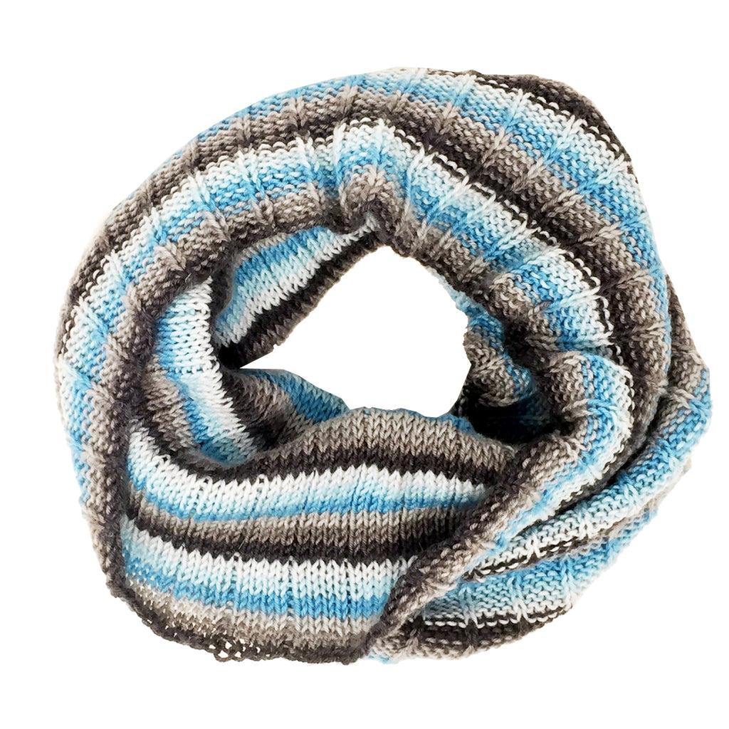 "SALE ""Lake Shore"" Hand-knit Cowl"
