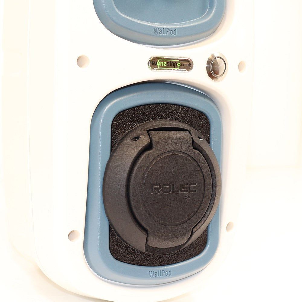 WallPod EV  : 2 Pin Shuko Type 2 Socket