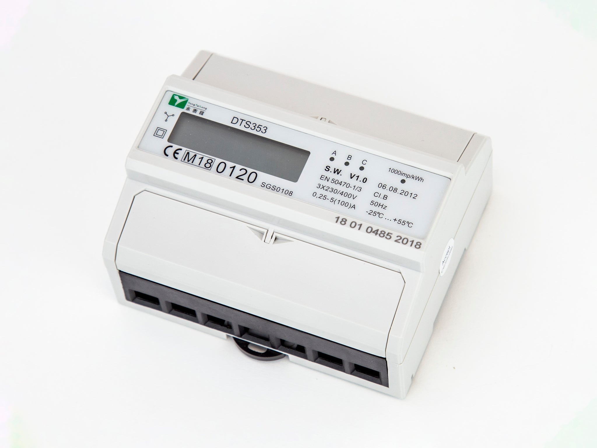 3P MID Approved kWh Meter
