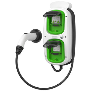 WallPod : EV Multi-Mode | Type 2 Tethered | 5 Meter | 16/32 Amp(3.6/7.2kW) | 3 Pin Socket | IP65 |