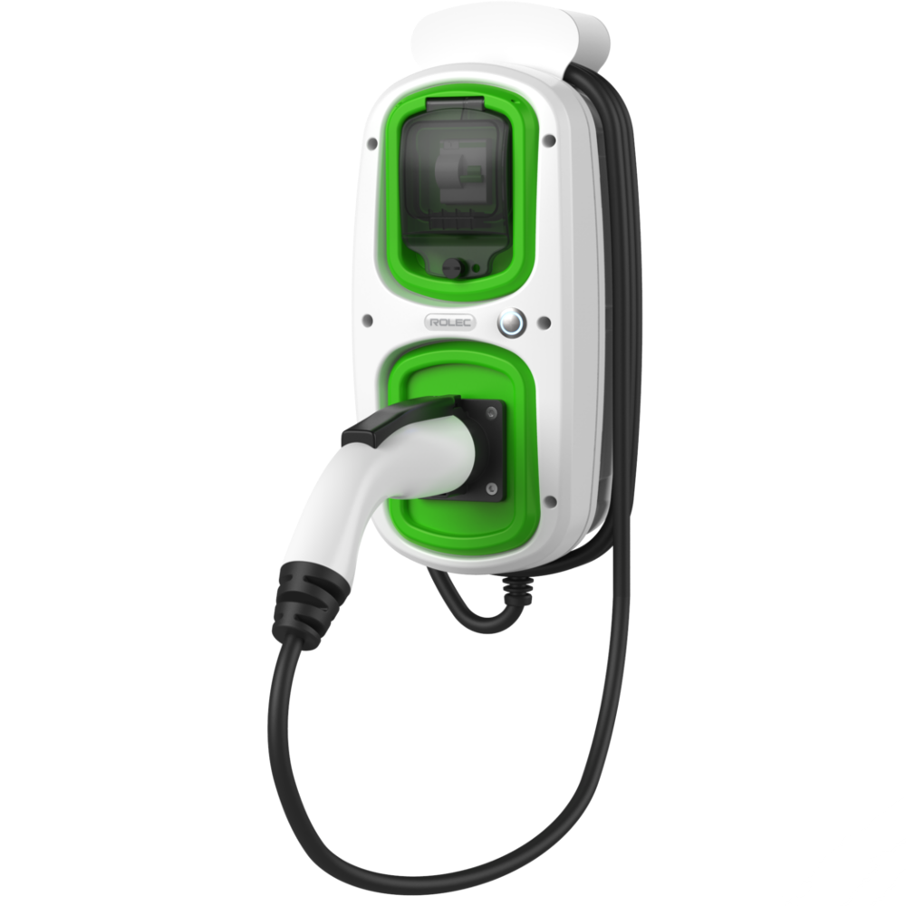 WallPod : EV HomeCharge  J1772 Type 1 tethered lead 5m
