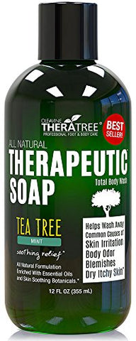Tea Tree Oil & Neem Soap 12oz.
