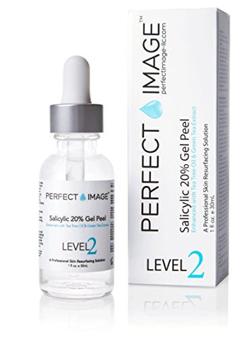 Salicylic Acid 20% Gel Peel - Enhanced with Tea Tree Oil & Green Tea Extract