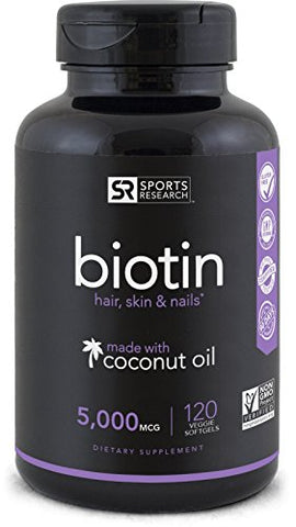 Biotin Enhanced with Coconut Oil (for Hair & Skin)