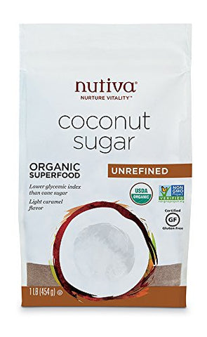 Organic, Unrefined Granulated Coconut Sugar (1 lb)