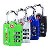 Forge TSA Combination Lock (4-pack)