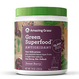Amazing Grass Green Superfood Antioxidant Organic Berry Powder