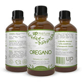 Oregano Oil 4 OZ - 100% Pure, Undiluted and Unfiltered, GMO Free