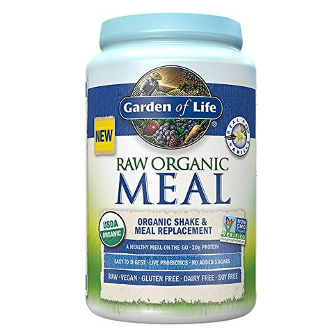 Garden of Life Meal Replacement, Vanilla (34.2oz)