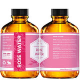 Organic Rose Water Facial Toner (4 oz)