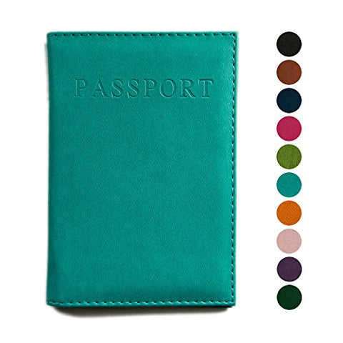 Passport Cover, Vegan Leather, 10 Colors