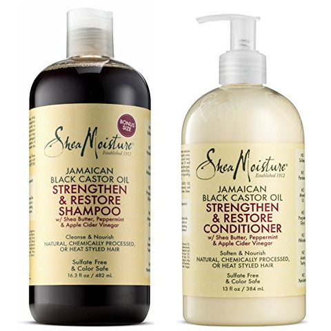 Shea Moisture Grow & Restore Shampoo & Conditioner Set