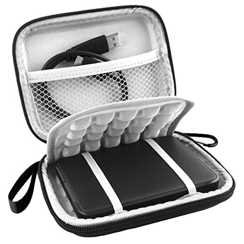 Lacdo External Hard Drive Shockproof Carrying Case