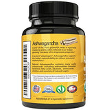 Organic Ashwagandha Root Powder Capsules (120-count)
