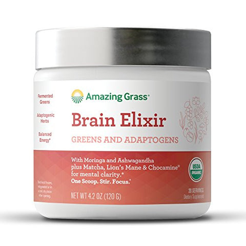 Amazing Grass Brain Elixir (4.2 oz)