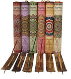 Variety Pack of Incense Sticks including Holder, 180 Sticks